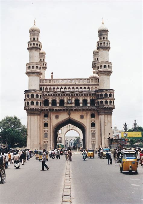 travel  india charminar  heritage monument