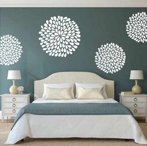 sticker chambre adulte poppy wall decals trendy wall designs