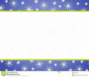 Blue Christmas Snow Borders Stock Illustration - Image ...