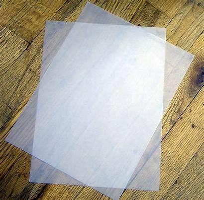 Vellum Translucent Paper Transparent Sheets Weight Vinyl
