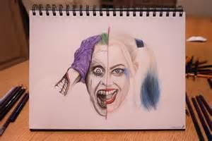 Harley Quinn Suicide Squad Joker Drawing