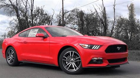 ford mustang ecoboost review youtube