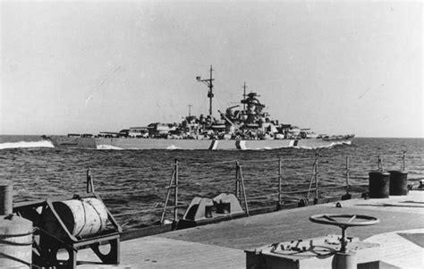 KBismarck.com - Bismarck Conducting Sea Trials
