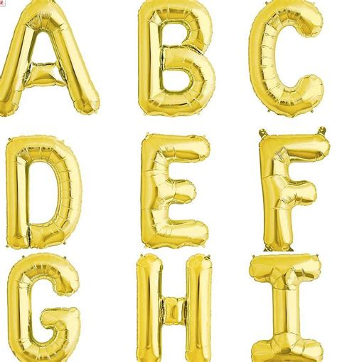large gold letter balloons gold letter balloons by letteroom notonthehighstreet