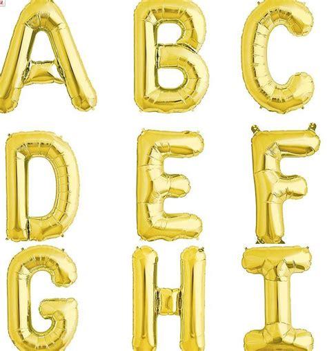 gold letter balloons gold letter balloons by the letteroom notonthehighstreet 17315