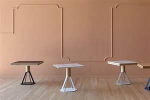 Tisch Holz Metall : geronimo e tisch miniforms aus holz und metall verl ngerbar in verschiedenen ausf hrungen und ~ Somuchworld.com Haus und Dekorationen