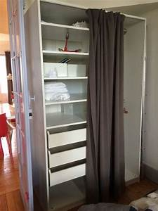 Ikea Armoire Blanche : armoire penderie pax ikea clasf ~ Teatrodelosmanantiales.com Idées de Décoration