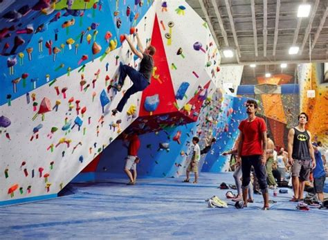 worlds biggest rock climbing wall manufacturer gains hold