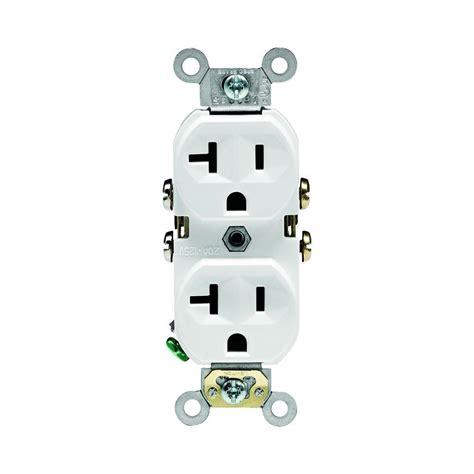 commercial grade kitchen faucets leviton 20 amp commercial grade duplex outlet white 10