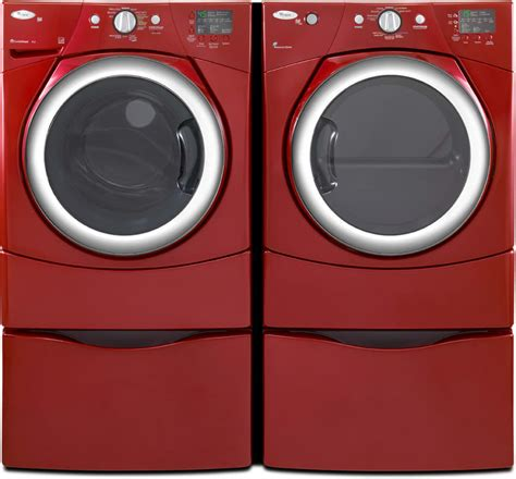whirlpool dryer duet steam gas cranberry electric inch ajmadison