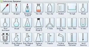 Laboratory Equipment Diagram