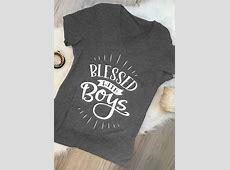 Blessed With Boys TShirt Fairyseason