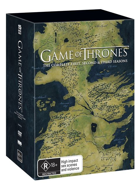 game  thrones season   box set dvd buy