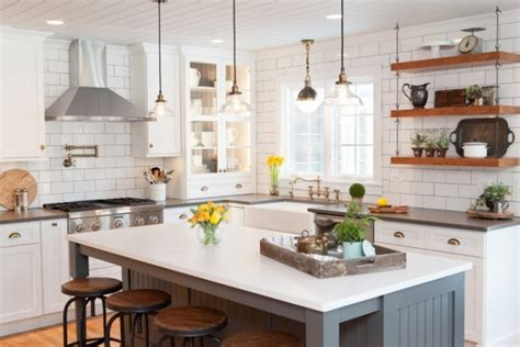 farmhouse style kitchen islands cool hanging shelves from ceiling to get inspirations from 7166