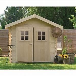 Abri De Jardin 6m2 : abri de jardin bois 28mm 7 53m utiles achat vente ~ Dailycaller-alerts.com Idées de Décoration