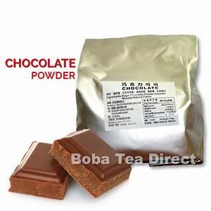 Chocolate Boba Tea Powder - Popping Bobas