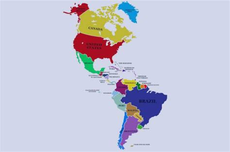 Quantos países tem a América e quais são? | Guia do Nômade ...