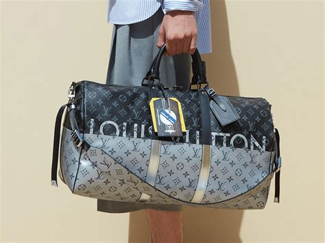louis vuitton introduces  monogram split  mens