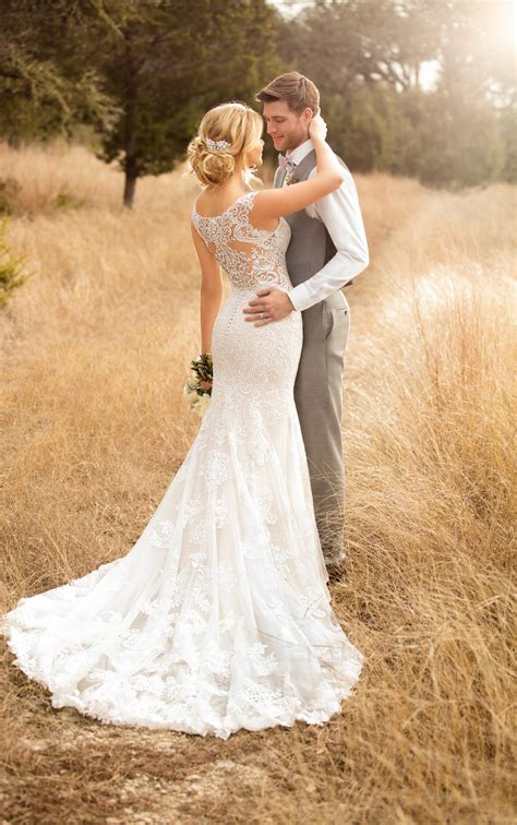 backless wedding dresses column backless wedding gown