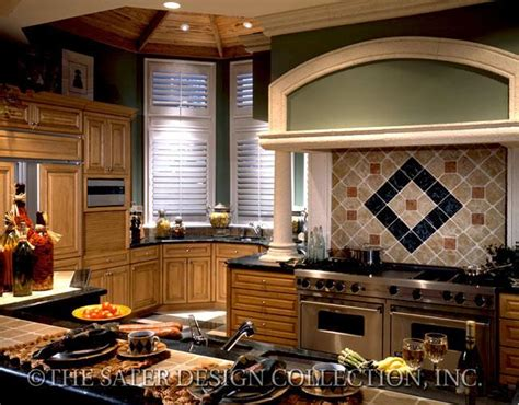 designer kitchens for house plan sater design collection 6648
