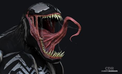 Anime Illustration Wallpaper - wallpaper illustration anime 3d venom darkness