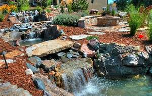 Waterfall Designs From Rocky Mountain Ponds And Waterfalls