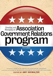 creating  managing  association government relations