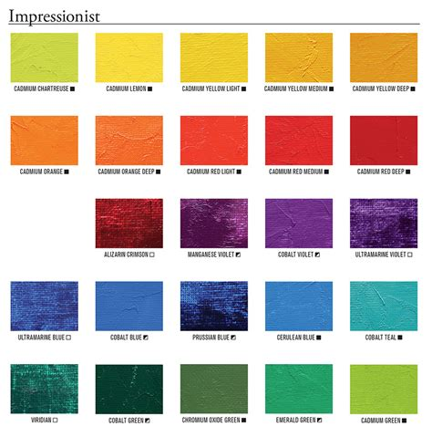 cadmium color mineral and modern colors painters access to color