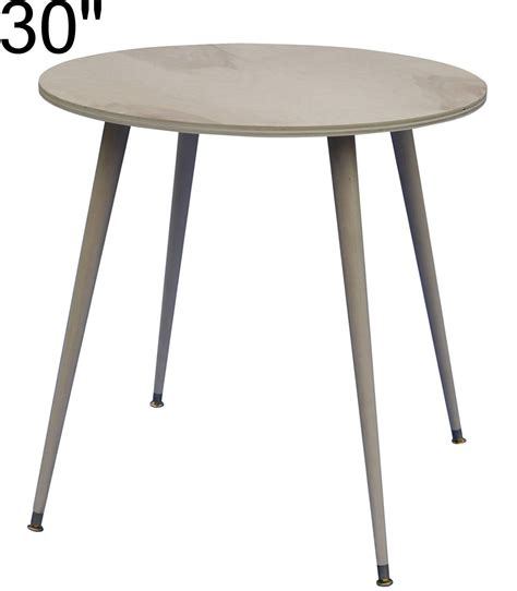 30 inch round accent table ready to cover 30 inch wood decorator table 125 00