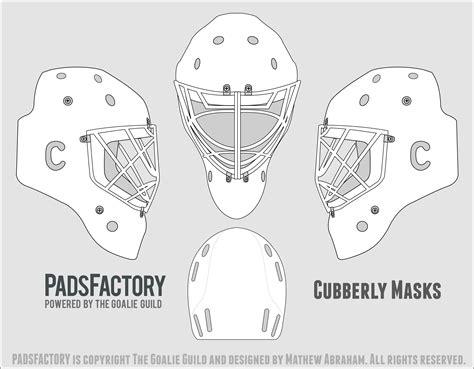 bauer goalie mask template bauer goalie mask template pictures to pin on pinsdaddy