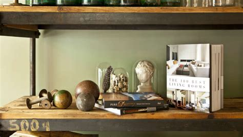 libreria legno grezzo scaffali componibili soluzioni innovative di arredo