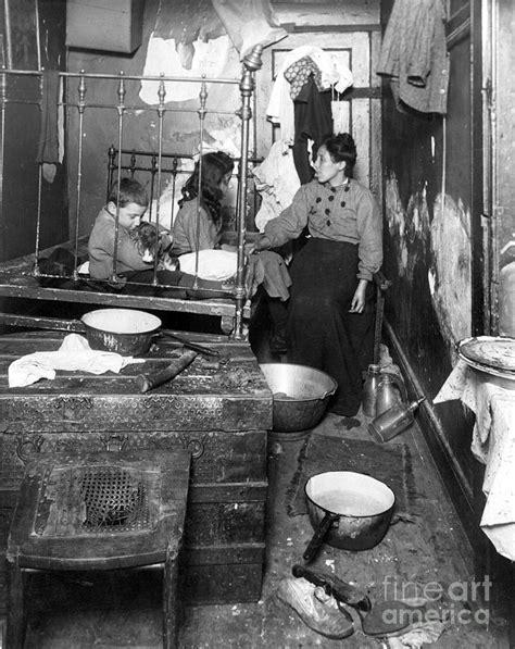 york tenement  photograph  granger