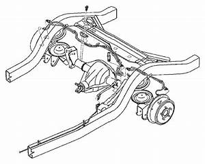 1998 Jeep Grand Cherokee Clip  Tube To Speed Sensor