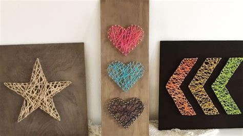 easy diy string art ideas