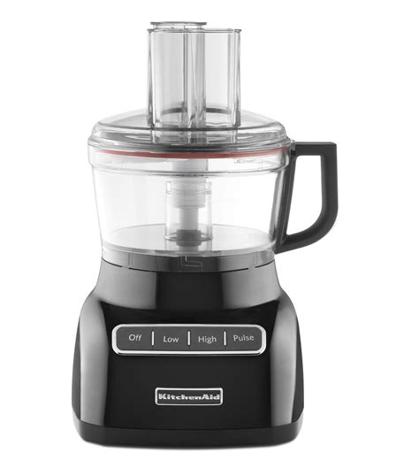 cuisine aid kitchenaid 7cup food processor kfp0711ob onyx black kitchenaid