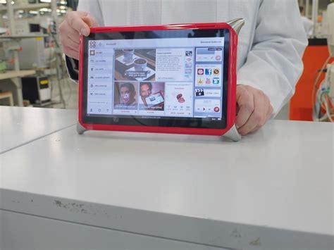 tablette de cuisine qooq qooq la tablette qui veut réveiller l électronique