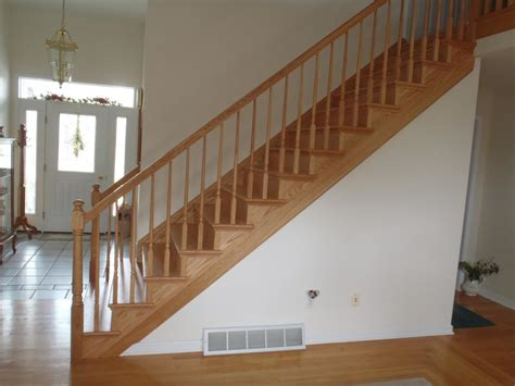 Home Interior Railings : Interior Oak Stair Tread Covers. Solid Wood Stair Treads