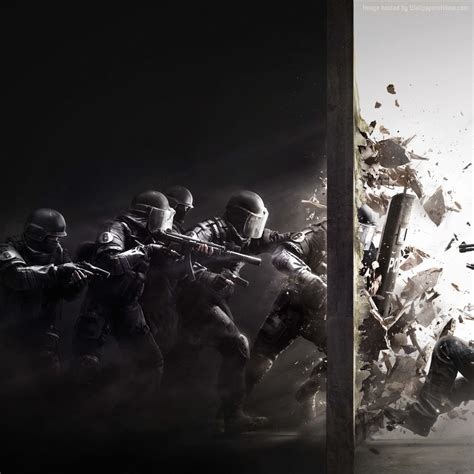wallpaper rainbow six siege best shooter fps ps