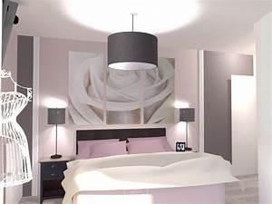 Chambre Rose Pale : d co chambre rose poudre et gris ~ Melissatoandfro.com Idées de Décoration