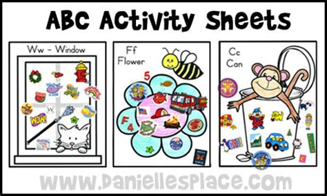 abc preschool games abc ready for school activities 437