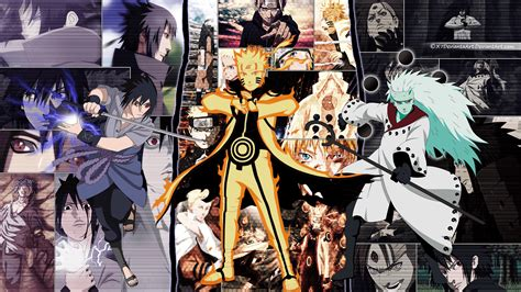 Anime Collage Wallpaper Hd - and sasuke vs madara wallpapers wallpaper cave