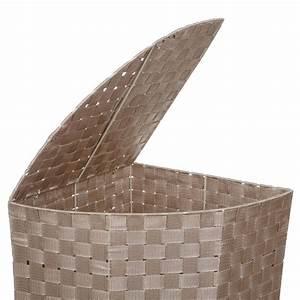 Panier A Linge D Angle : panier linge d 39 angle taupe ~ Teatrodelosmanantiales.com Idées de Décoration