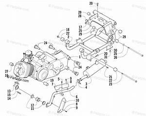 Arctic Cat Atv 2003 Oem Parts Diagram For Engine And