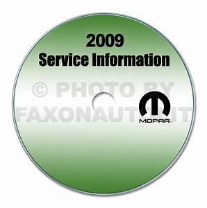 2009 Dodge Journey Repair Shop Manual Cd
