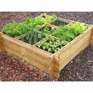 Carre De Jardin Potager : carr de potager en bois trait persil 140 achat vente ~ Premium-room.com Idées de Décoration