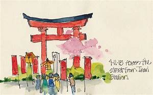 Making Memories In Kyoto Sketches Of Japan By Cathy