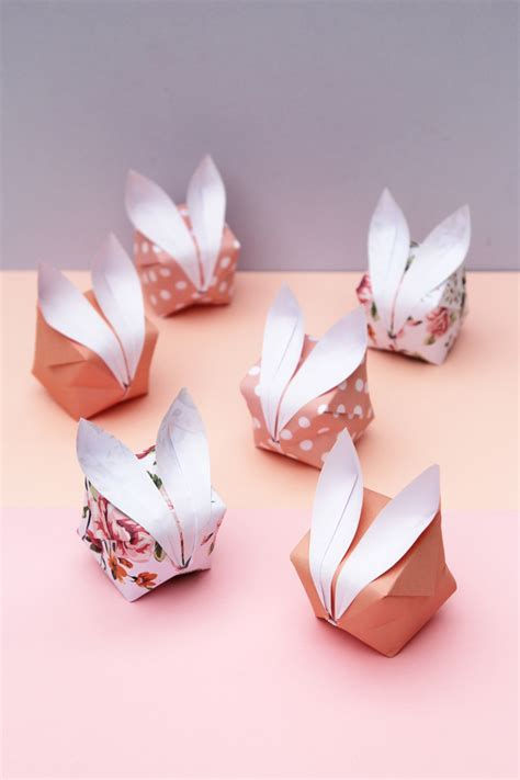 origami easter bunny rabbits tip junkie