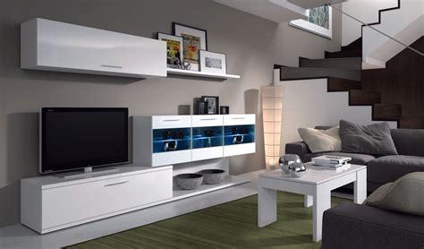 mueble comedor mueble de comedor salon moderno con leds color blanco