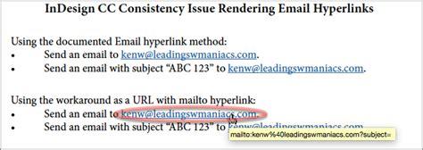 Hyperlink Creator by A Fix For Indesign S Email Hyperlink Problem