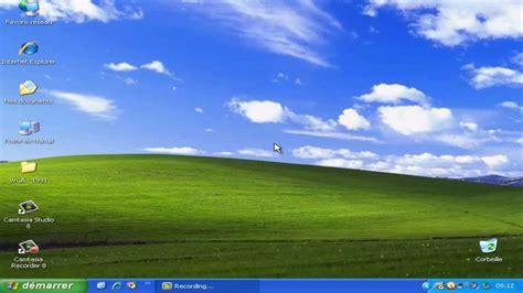horloge bureau windows xp episode 12 présentation de windows xp 1er partie le